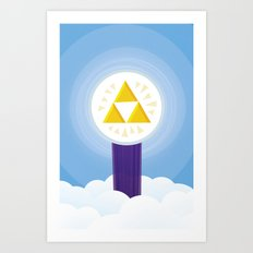 The Creation of Hyrule Art Print