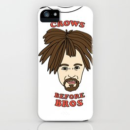 Crows Before Bros iPhone Case