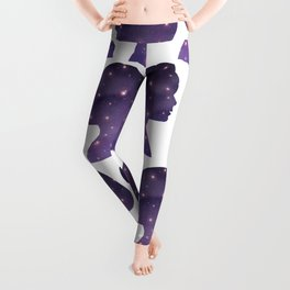 Universe in a Boy and a girl facing Leggings