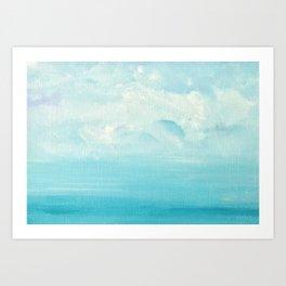 The Wave Series (iii) Art Print