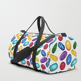 Colorful Minerals Pattern Duffle Bag