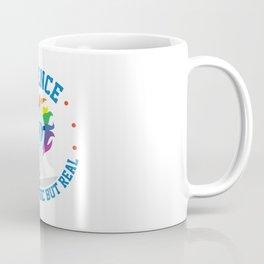 Funny Science Is Like Magic But Real Unicorn Gift Coffee Mug