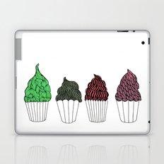 Cupcakes, advanced Laptop & iPad Skin