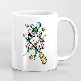 Green Galaxy Witchy Coffee Mug