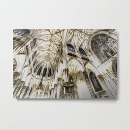 Cathedral Architecture Art Metal Print