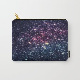 Galaxy Stars : Subtle Purple Mauve Pink Teal Carry-All Pouch