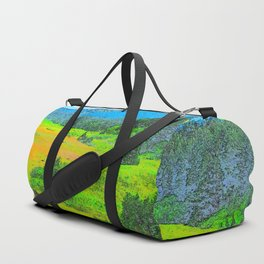 Alaska's Kenai Peninsula - Watercolor Duffle Bag
