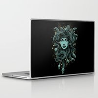 medusa Laptop & iPad Skins featuring Medusa by miles to go
