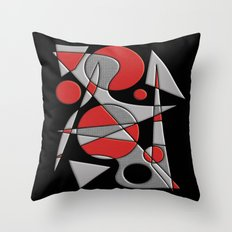 Abstract #284 Paladin Throw Pillow