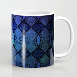 Sapphire Glass Coffee Mug