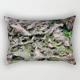 Life on a Fallen Tree Rectangular Pillow