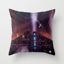 Andover Esate, Blade Runner Style Throw Pillow