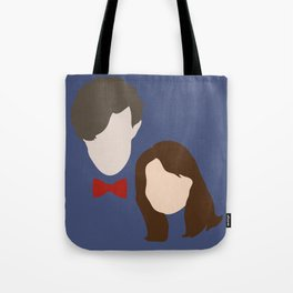 The Eleventh Doctor and the lovely Clara Oswin Oswald Tote Bag