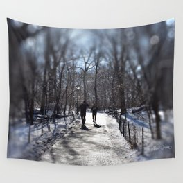 Time for a Run Wall Tapestry