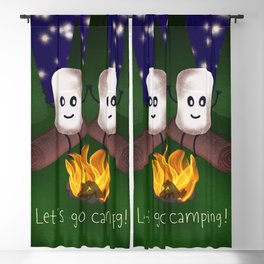 Let's Go Camping! Blackout Curtain