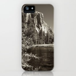 El Capitan and Merced River iPhone Case