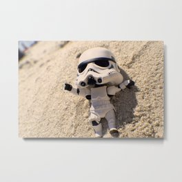Beach Days Metal Print