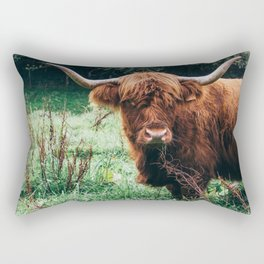 Scottish Highland Cattle Rectangular Pillow
