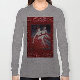 Femme Fatale - Anita Red Devil Glitter Long Sleeve T-shirt