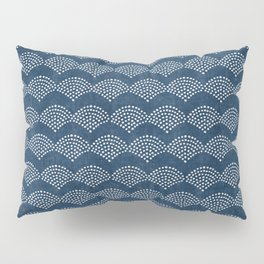 Wabi Sabi Arches in Blue Pillow Sham