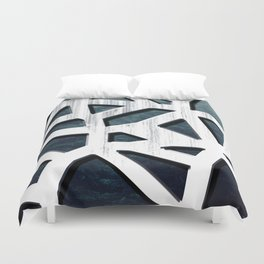 Punctured Forest Duvet Cover