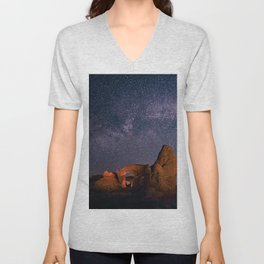 Arches National Park Panorama Unisex V-Neck