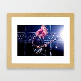 Alison Mosshart (The Kills) - I Framed Art Print