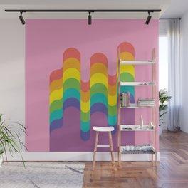 Design-y LGBTQ+ Pride Rainbow Wall Mural