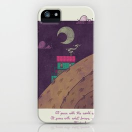 At Peace iPhone Case