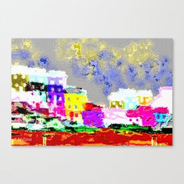 Fun City Canvas Print