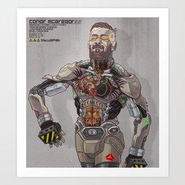 Conor Bot Art Print