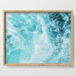 Perfect Sea Waves Serving Tray