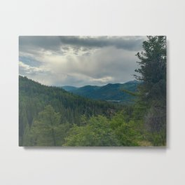 Pagosa Springs Trail Views Metal Print