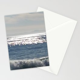 Low waves Stationery Cards