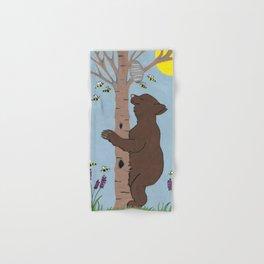 Bees And The Bear Hand & Bath Towel