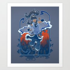 The Legend Continues Art Print