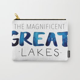The Magnificent Great Lakes Carry-All Pouch