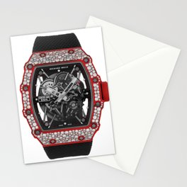 Richard Mille 35-02 Rafael Nadal Diamond Red Quartz TPT Automatic 49MM Stationery Cards