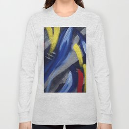 """Thumbnail of the painting """"The theme of """"Gary B.B. Coleman - The Sky is Crying """" Long Sleeve T-shirt"""