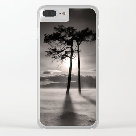 Two trees Clear iPhone Case