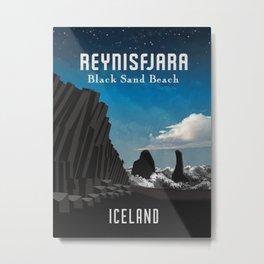 Iceland: Reynisfjara Metal Print