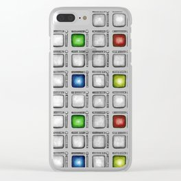 Pad Controller in RGB Clear iPhone Case