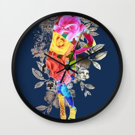 The Most Exotic Flower Wall Clock