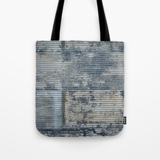 Warehouse District -- Vintage Industrial Farm Chic Abstract Tote Bag