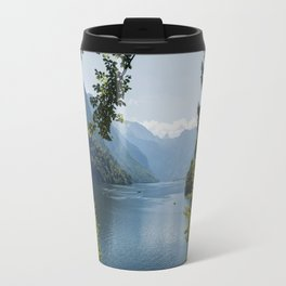 Germany, Malerblick, Mountains - Alps Koenigssee Lake Travel Mug