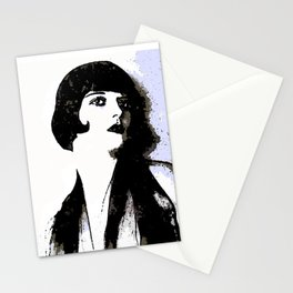 LOUISE BROOKS:  MY LOVE IS ALL I HAVE TO GIVE Stationery Cards