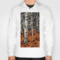 birch Hoodies featuring Birch by LeahOwen