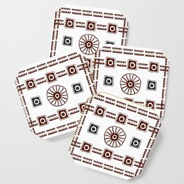 Ancestral Ornament 1A Coaster