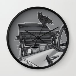 The Old Masters Wall Clock
