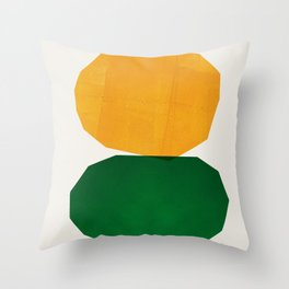 Abstraction_STONES Throw Pillow